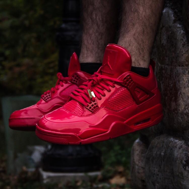 Air Jordan 11LAB4 - University Red