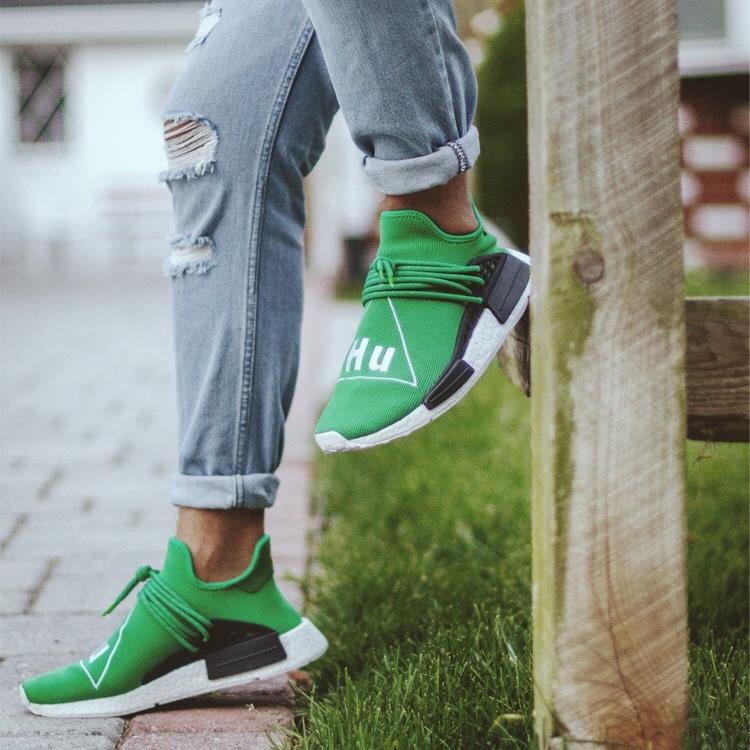 Pharrell x adidas NMD Human Race - Green