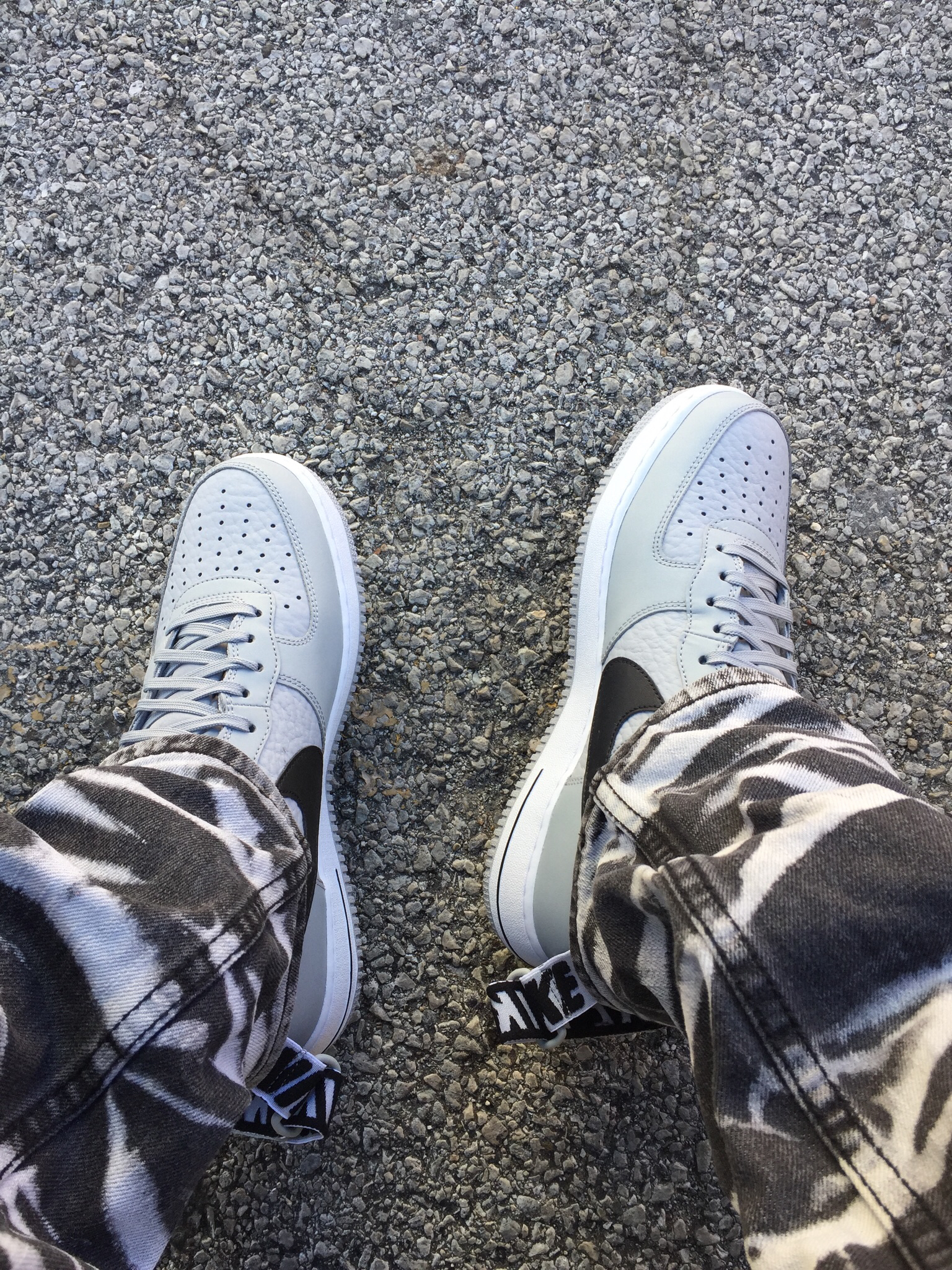 Nike Air Force 1 High Statement Game Flight Silver