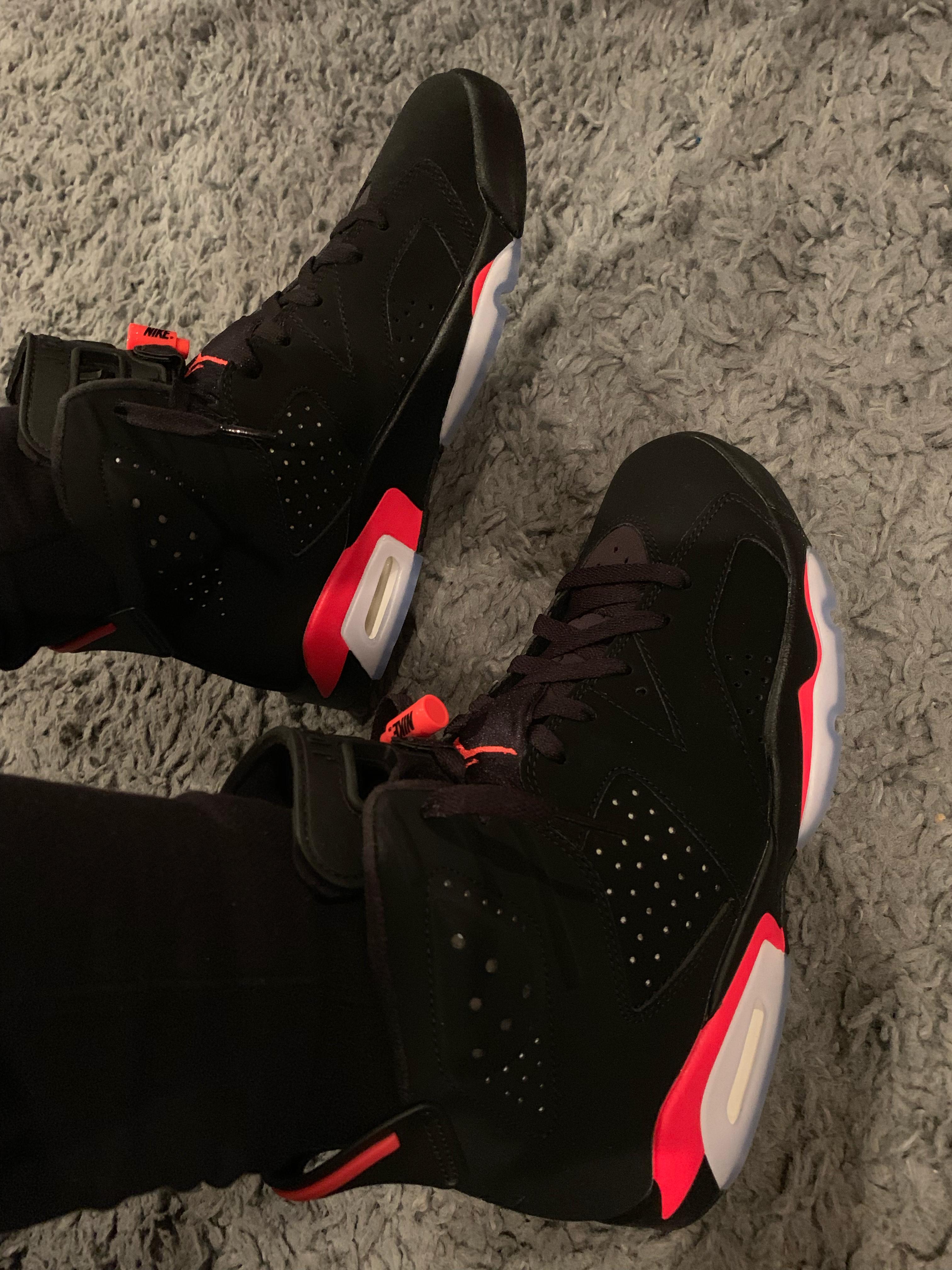 Air Jordan 6 Black Infrared OG 2019