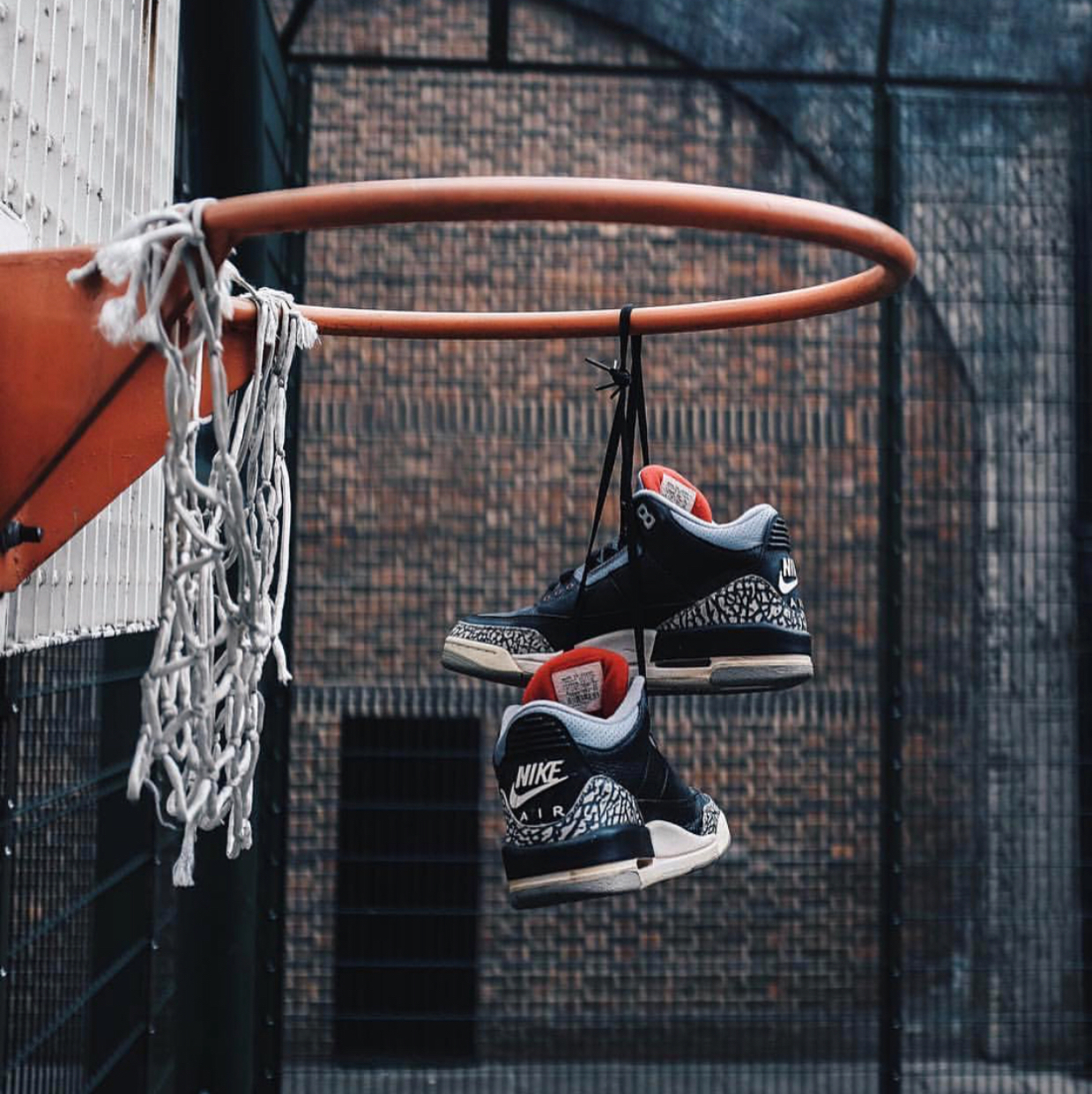 Air Jordan 3 OG 88 Black Cement