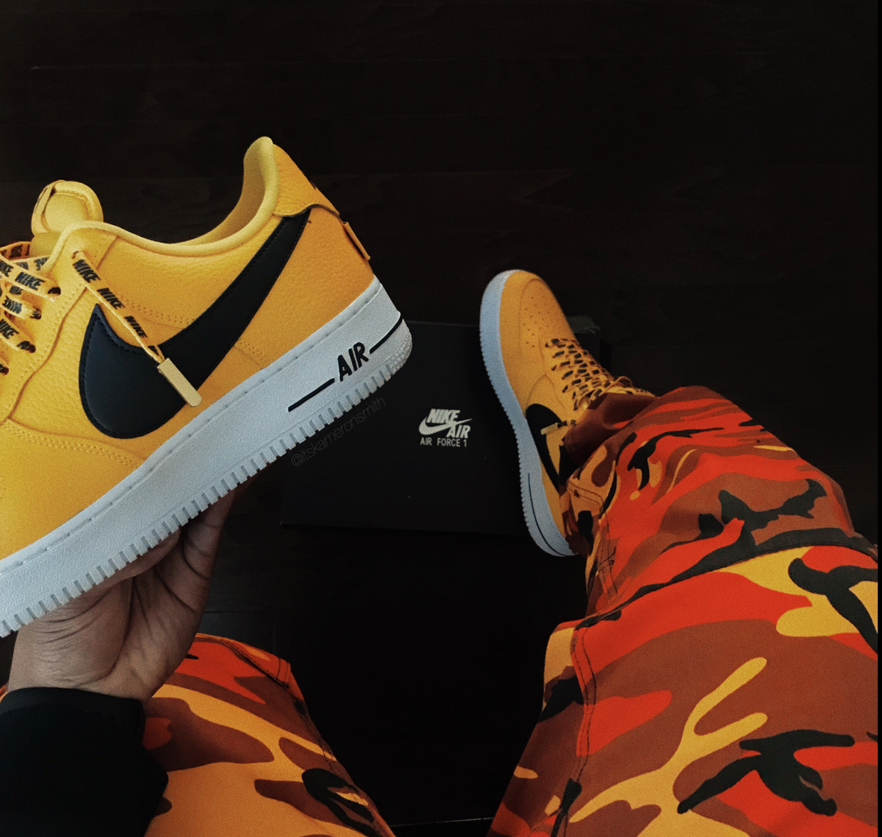 Nike Air Force 1 Low Statement Game Amarillo
