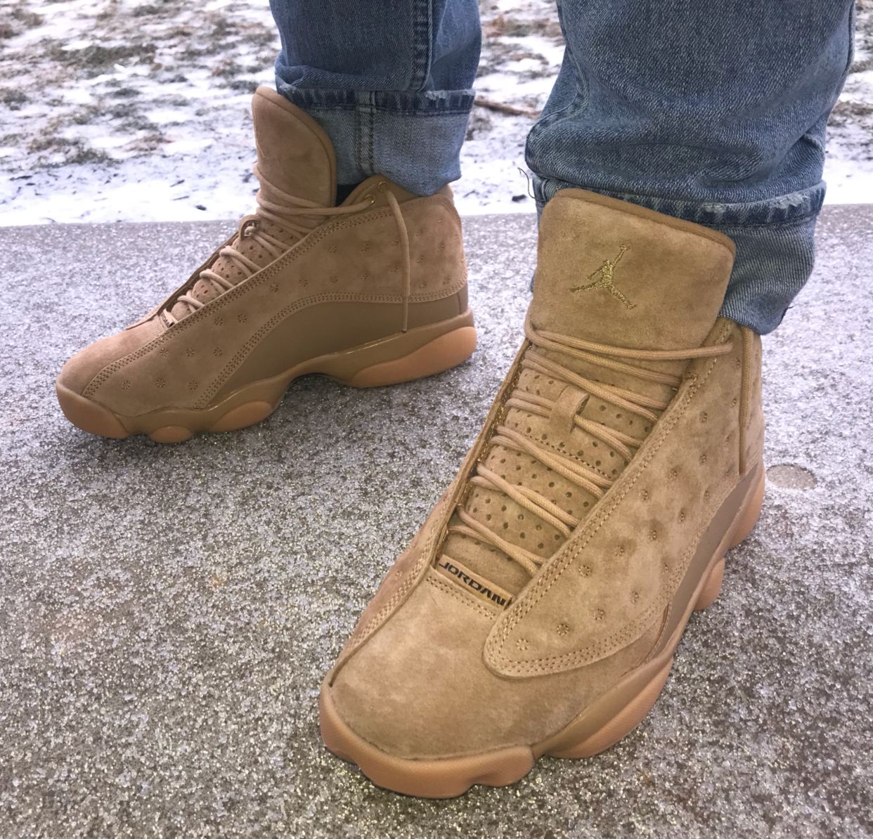 pretty nice 5596b 2eb4b Air Jordan 13 Wheat - KicksOnFire.com