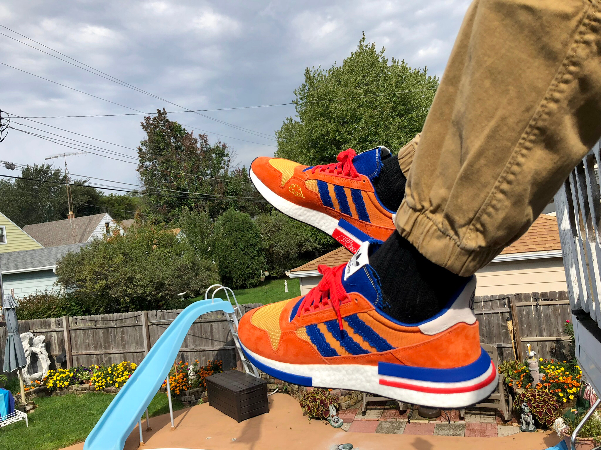 Dragon Ball Z x adidas ZX 500 RM Son Goku