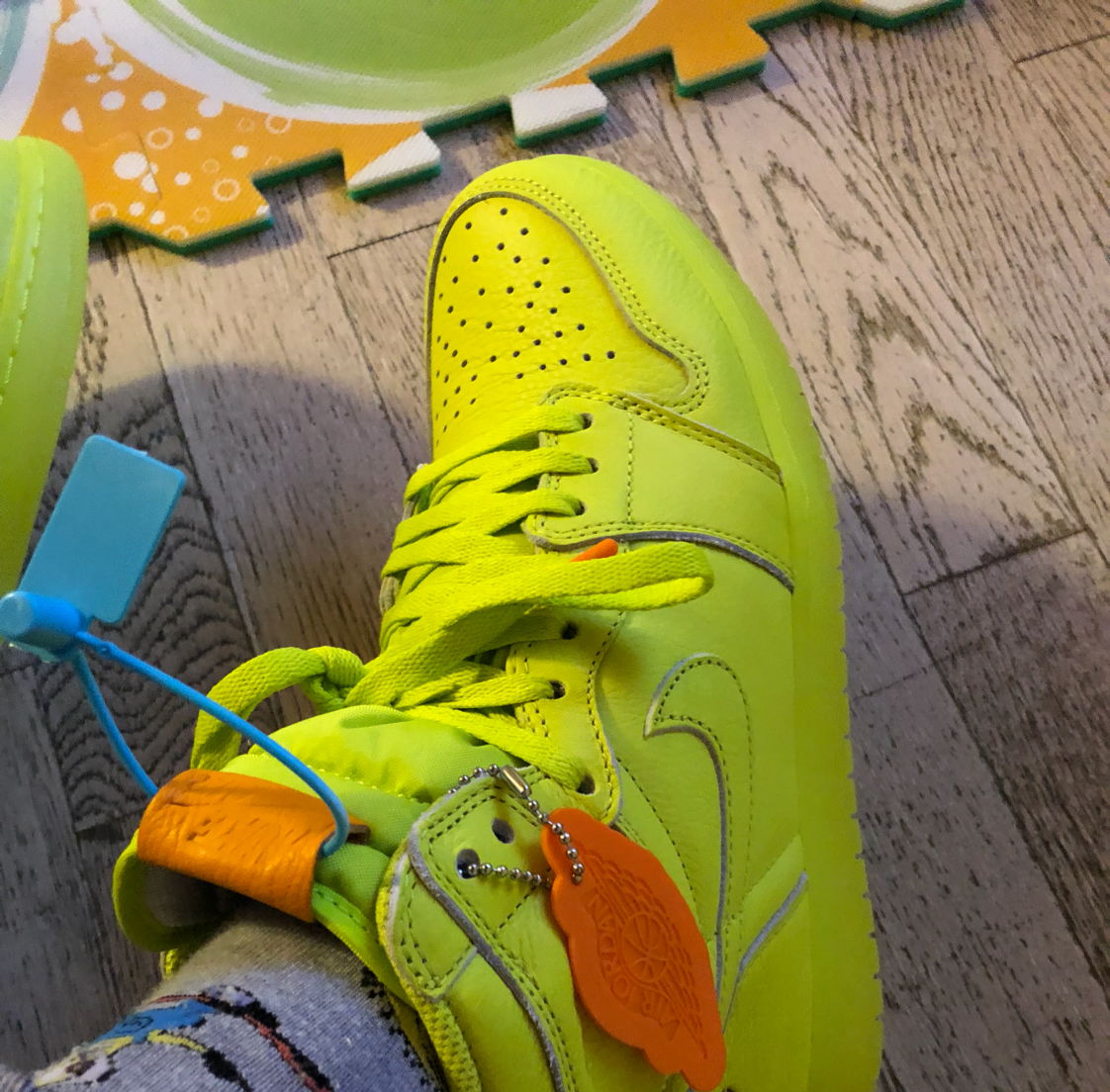 Air Jordan 1 Gatorade Cyber