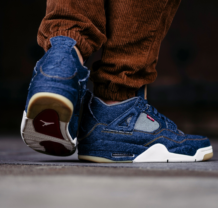 Levi's x Air Jordan 4 Denim