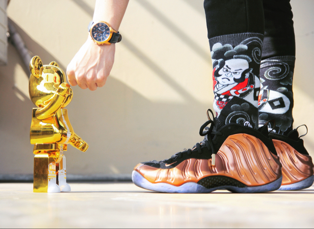 Nike Air Foamposite One Copper