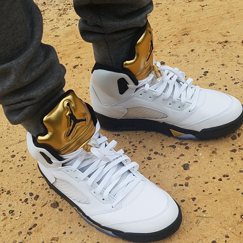 Air Jordan 5 Olympic (Gold Medal)
