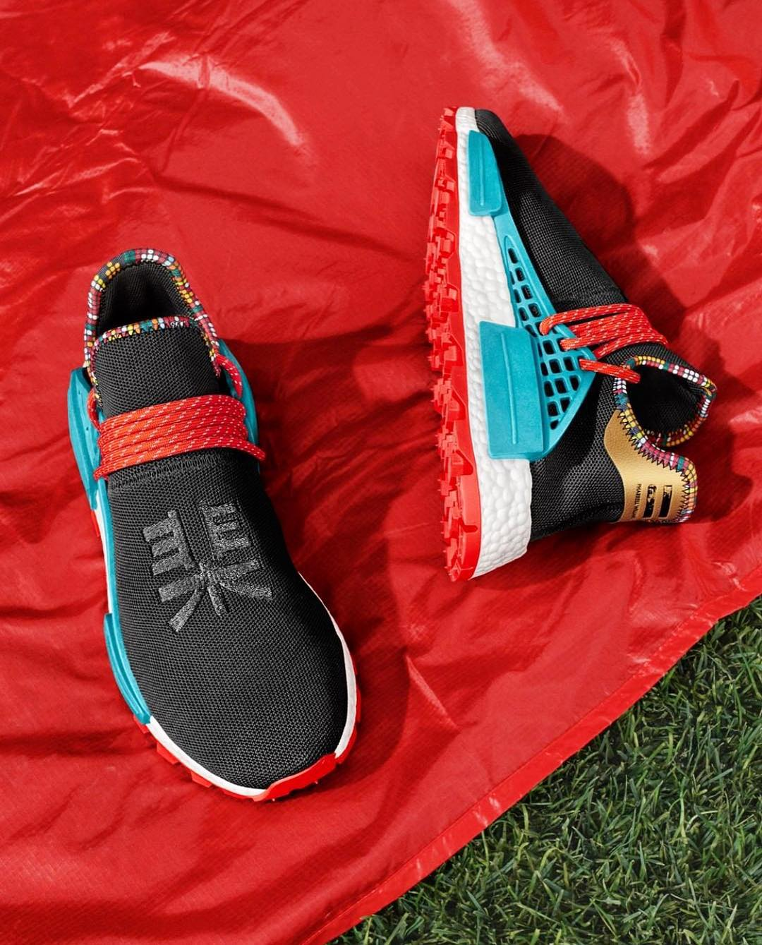 Pharrell x adidas NMD Hu Inspiration Core Black